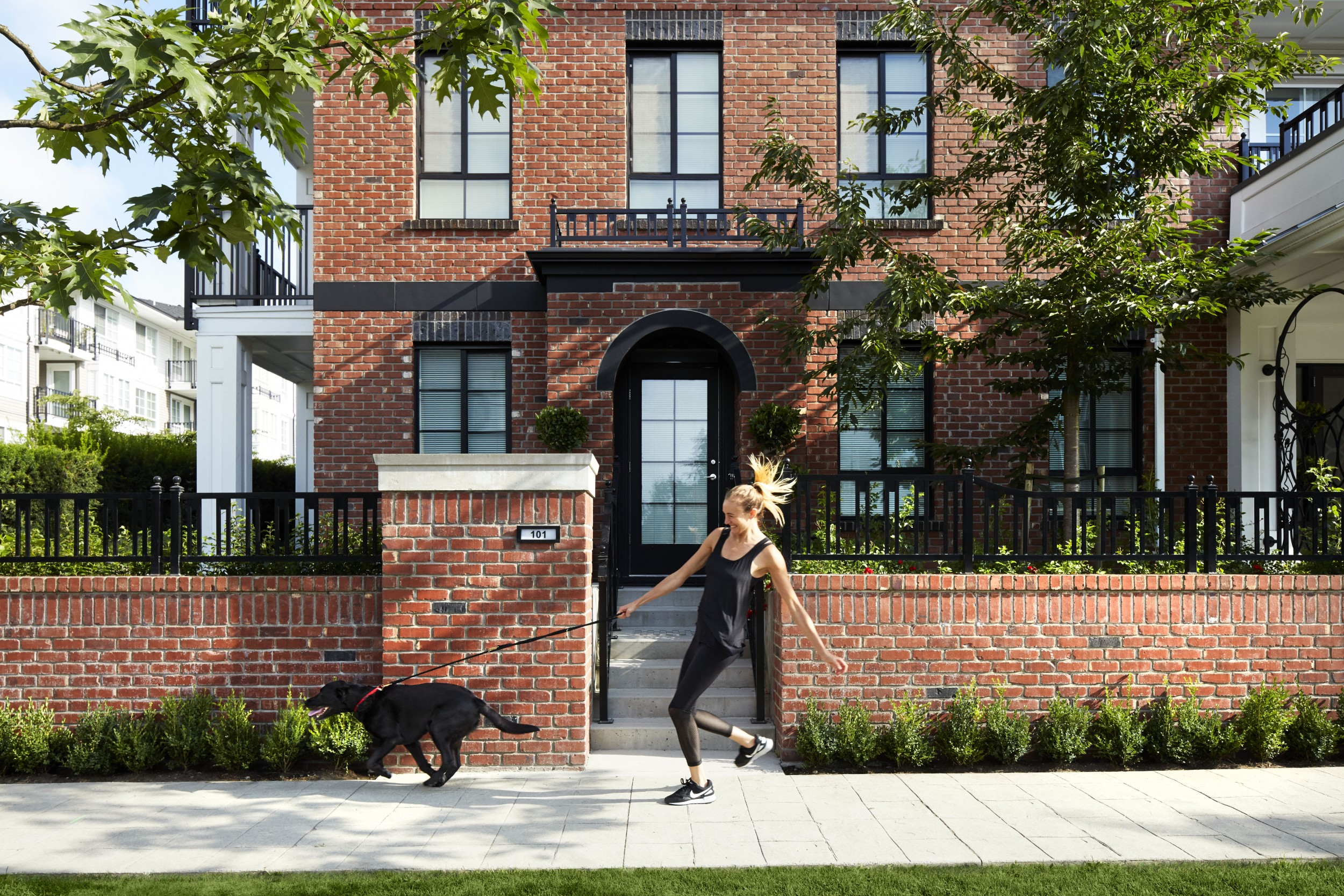 Foster Redbrick Apartments in West Coquitlam