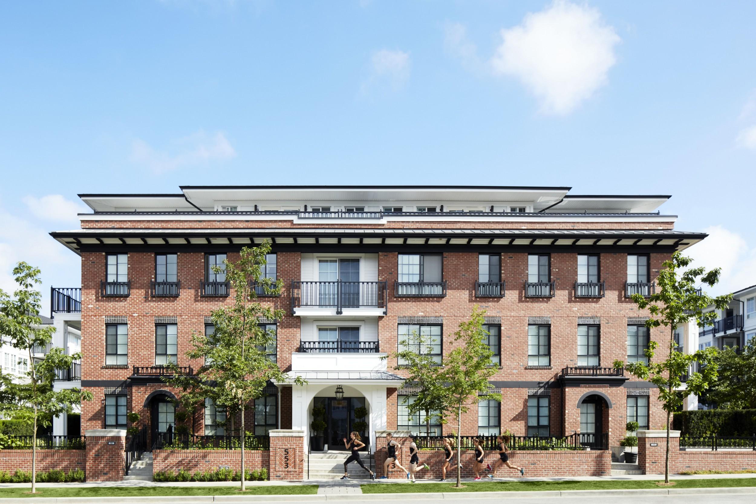 Exterior Wide Apartments in Coquitlam