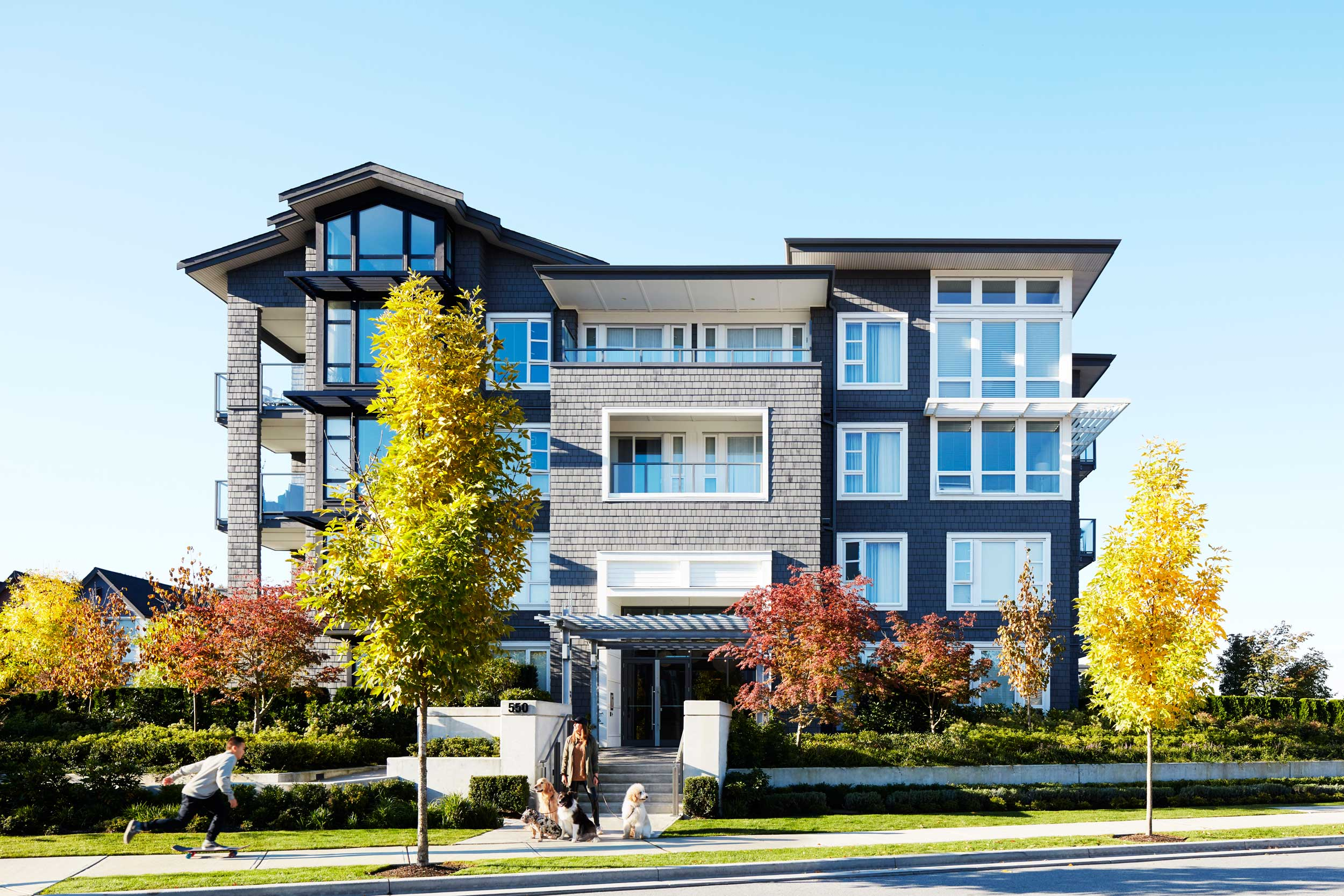 Fremont Green Architecture Apartments Port Coquitlam
