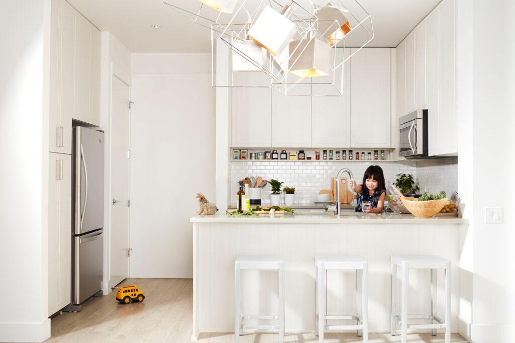Fremont Living Kitchen
