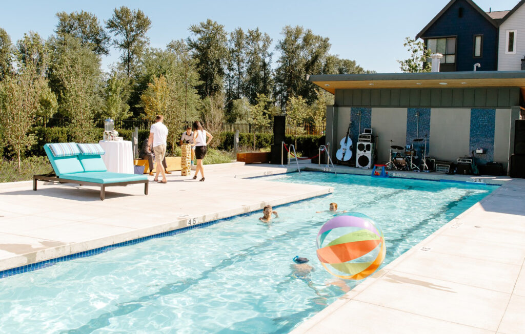 Fremont Riverclub Pool Apartments in Vancouver